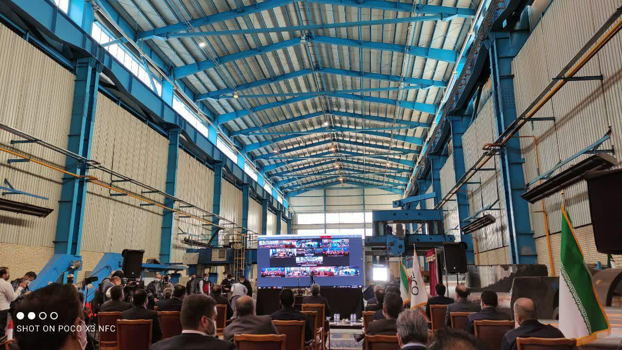 بهره برداری طرح تکمیلی مجتمع فولاد اسفراین با سرمایه گذاری ۲۸۰۰میلیارد تومانی,