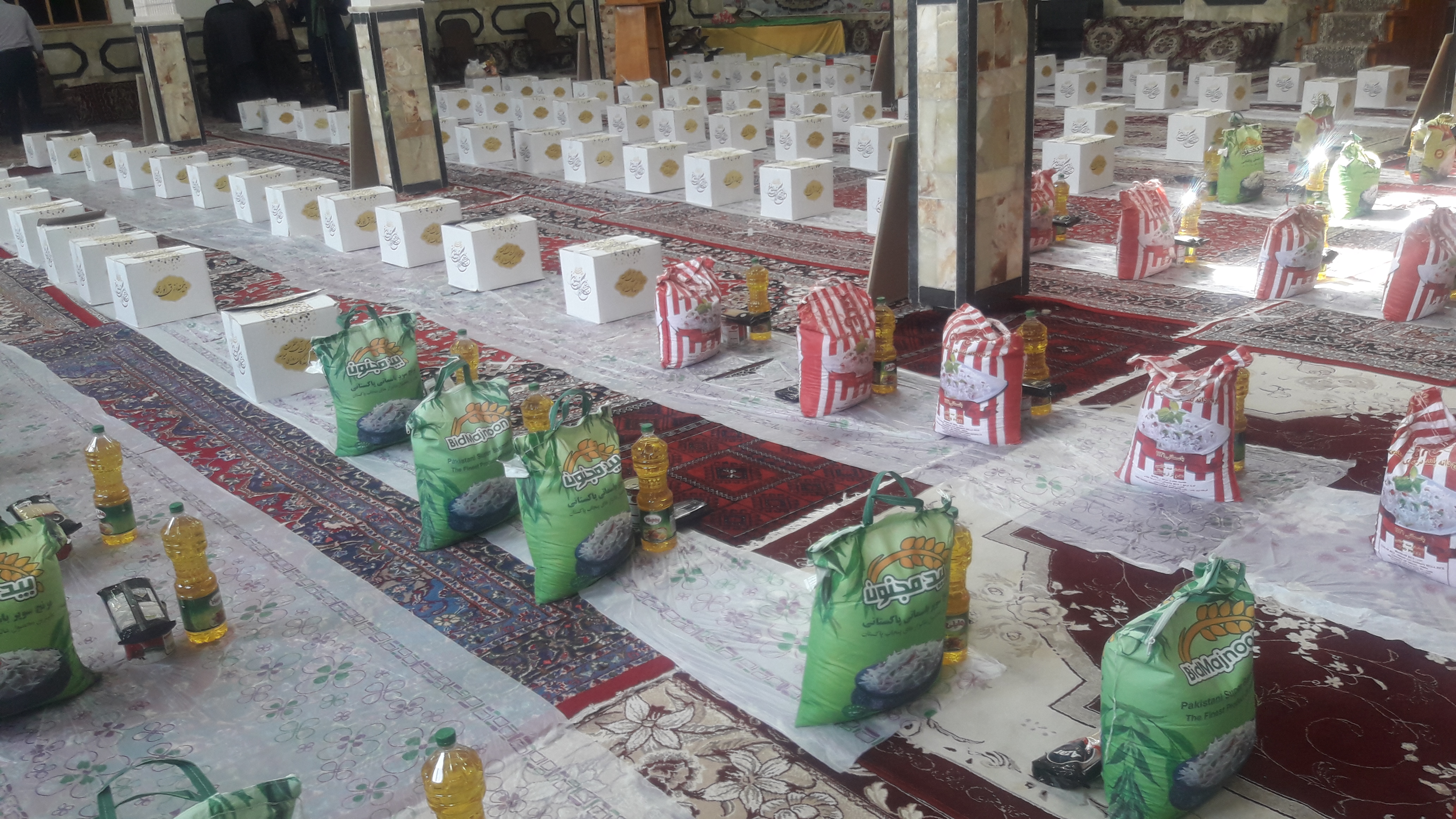 برگزاری رزمایش کمک مومنانه در جاجرم
