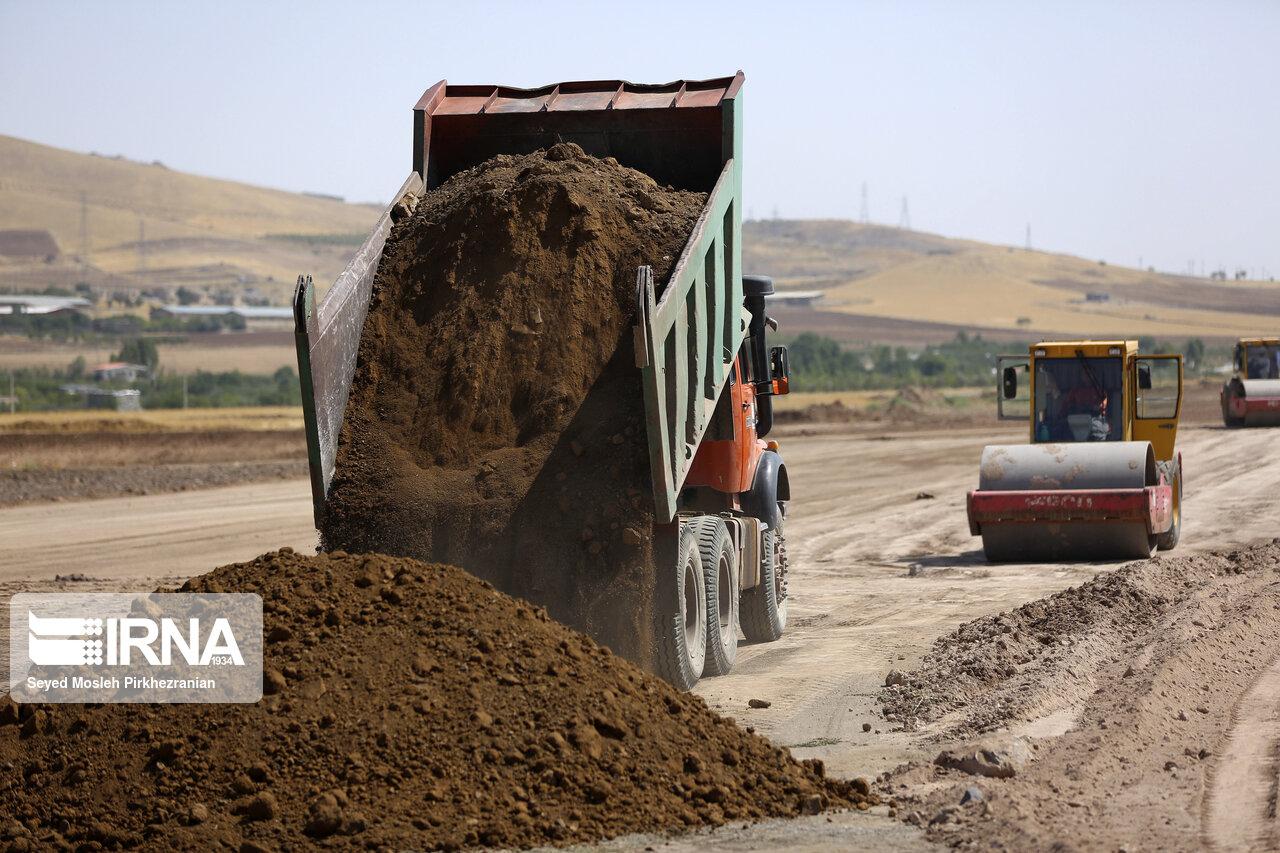 اجرای محور بجنورد-جنگل ۸۸ درصد پیشرفت دارد,خراسان شمالی+بجنورد+راهسازی+مهدی رشیدی+جنگل گلستان