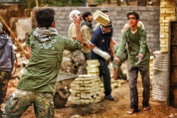 ارائه خدمات جهادی بسیج استان به 80 درصد روستاها/ اشتغال زایی برای 2400 نفر با طرح های محرومیت زدایی,