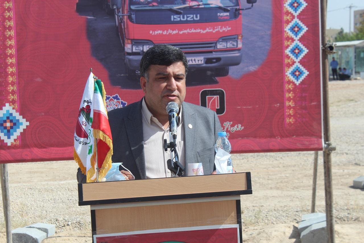 آغاز ساخت ایستگاه شماره 6 آتشنشانی از آبان ماه ,خراسان شمالی+بجنورد+سرپرست شهرداری+علی گودرزی+آتشنشانی+شهرک ولی عصر