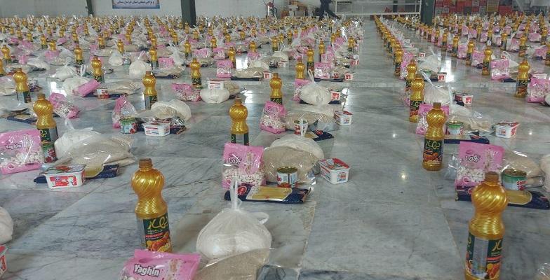 توزیع ۸۰۰ بسته غذایی در مناطق زلزله زده خراسان شمالی,