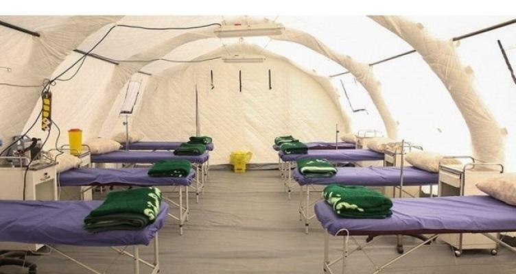تریاژصحرایی از محوطه بیمارستان امام حسن (ع) بجنوردجمع آوری شد