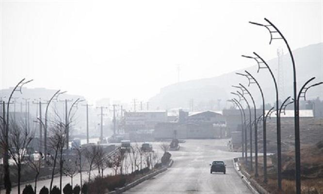 تجربه 11 روز هوای ناسالم در مرکز خراسان شمالی/لزوم خروج سنگ شکن ها از حریم بجنورد