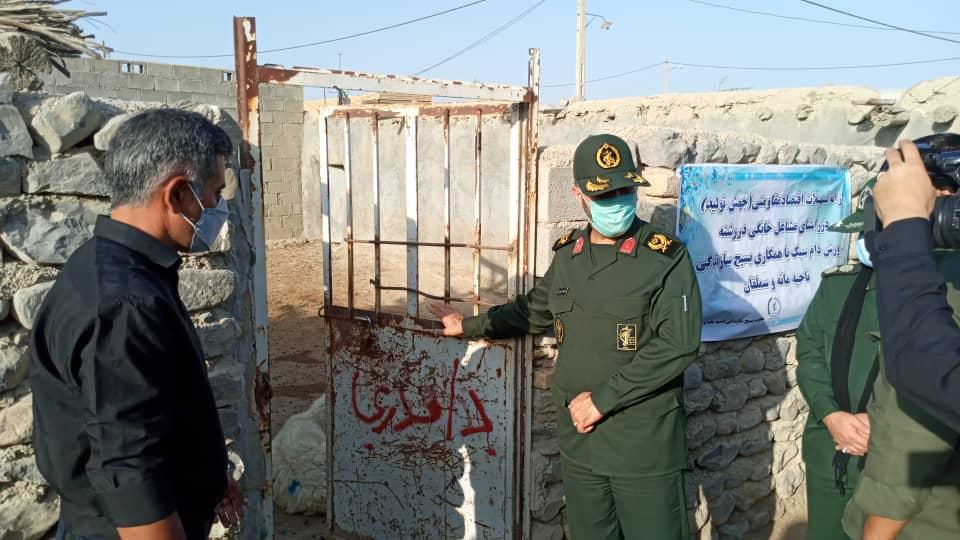 یک واحد دامداری در روستای کوشکی ترکمن  بهره برداری شد,