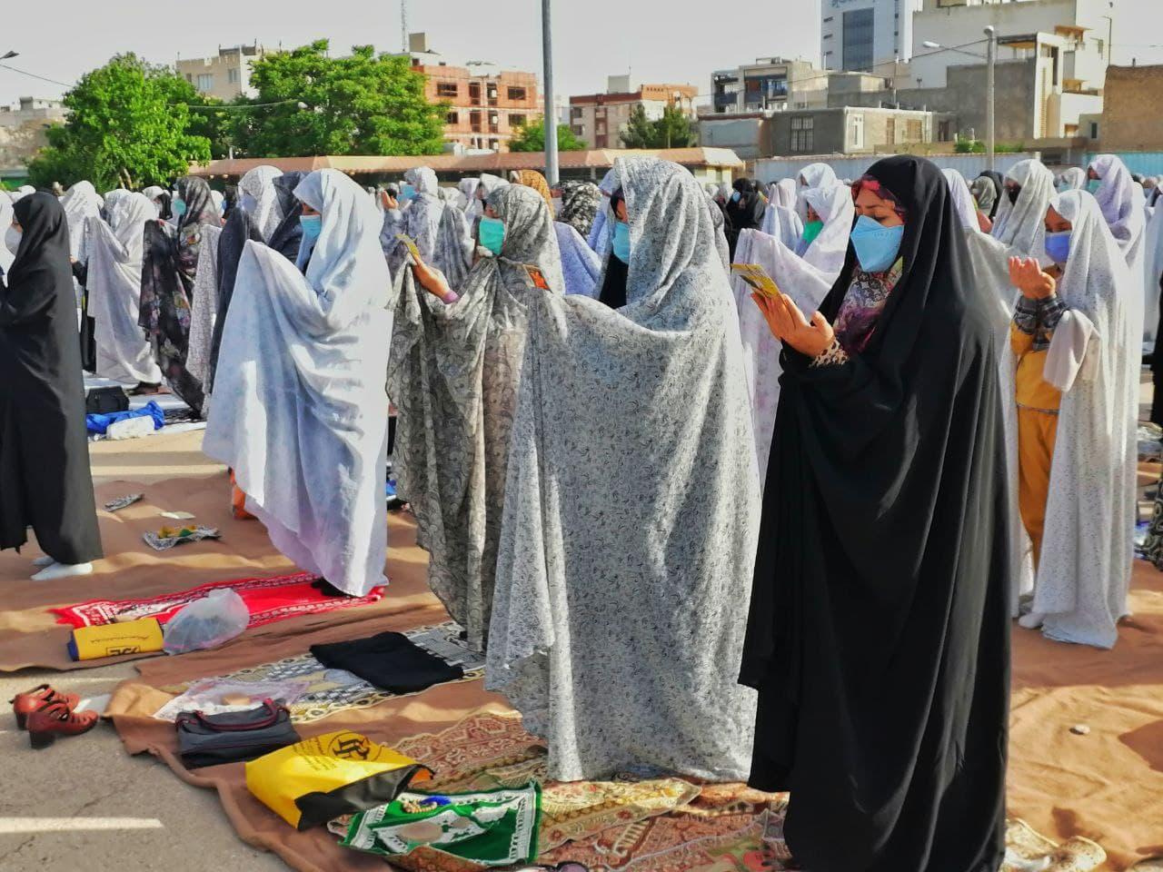 برگزاری نماز عید سعید فطر در مرکز خراسان شمالی