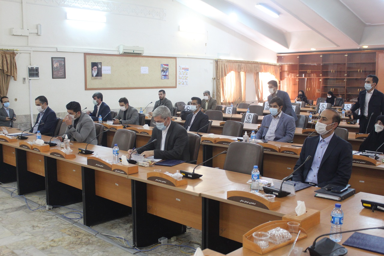 مراسم تحلیف منتخبین ششمین دوره شورای اسلامی شهرهای بجنورد، حصار گرمخان و چناران شهر|2843374