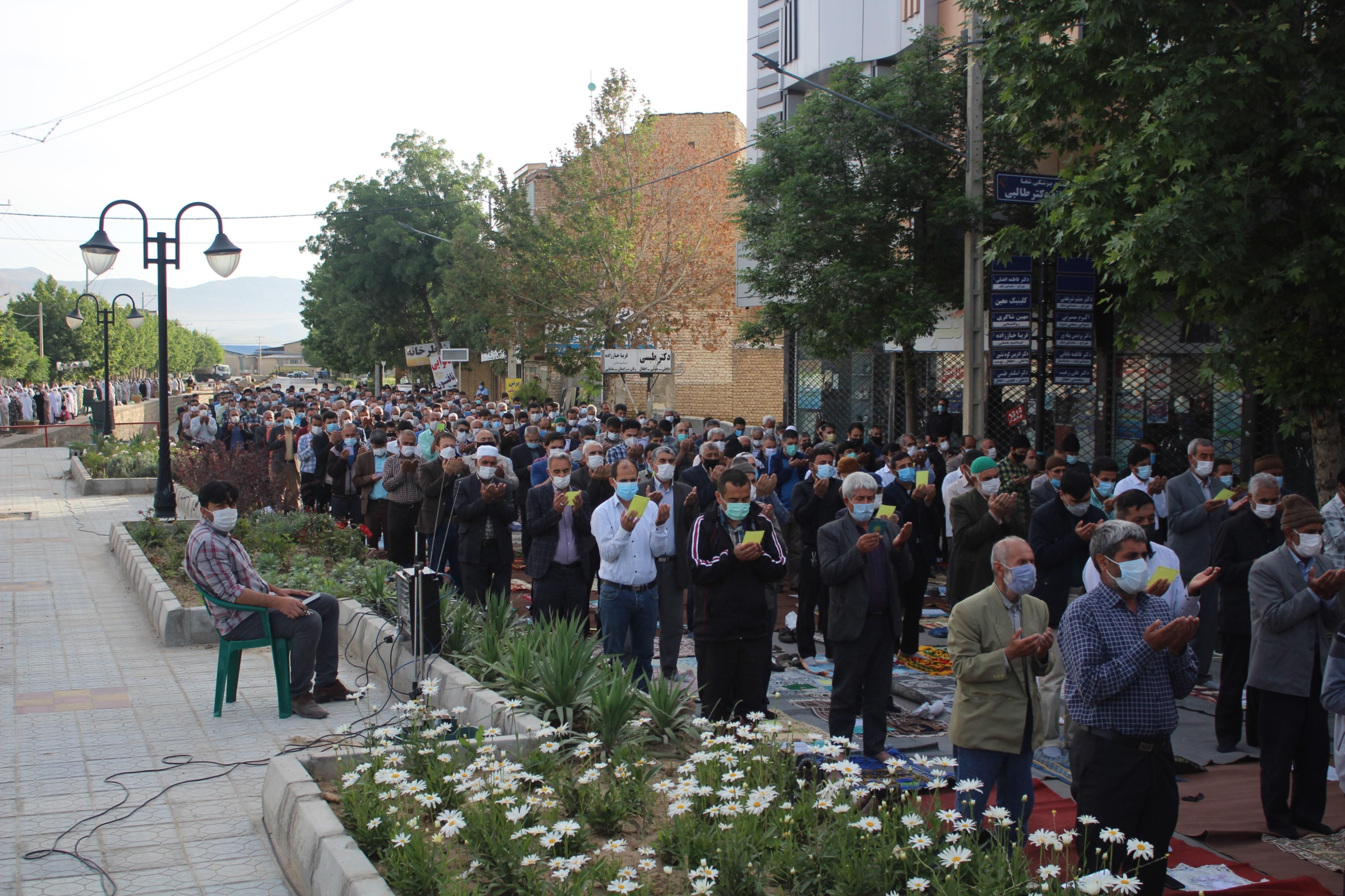 برگزاری نماز عید سعید فطر در مانه و سملقان |2839247