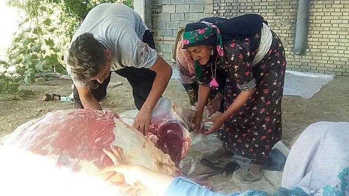 آداب و رسوم ترکمن های جرگلان درعید سعید قربان + تصاویر,