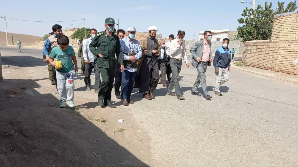 اردوی جهادی بسیج اصناف اسفراین در روستای الست|2843281