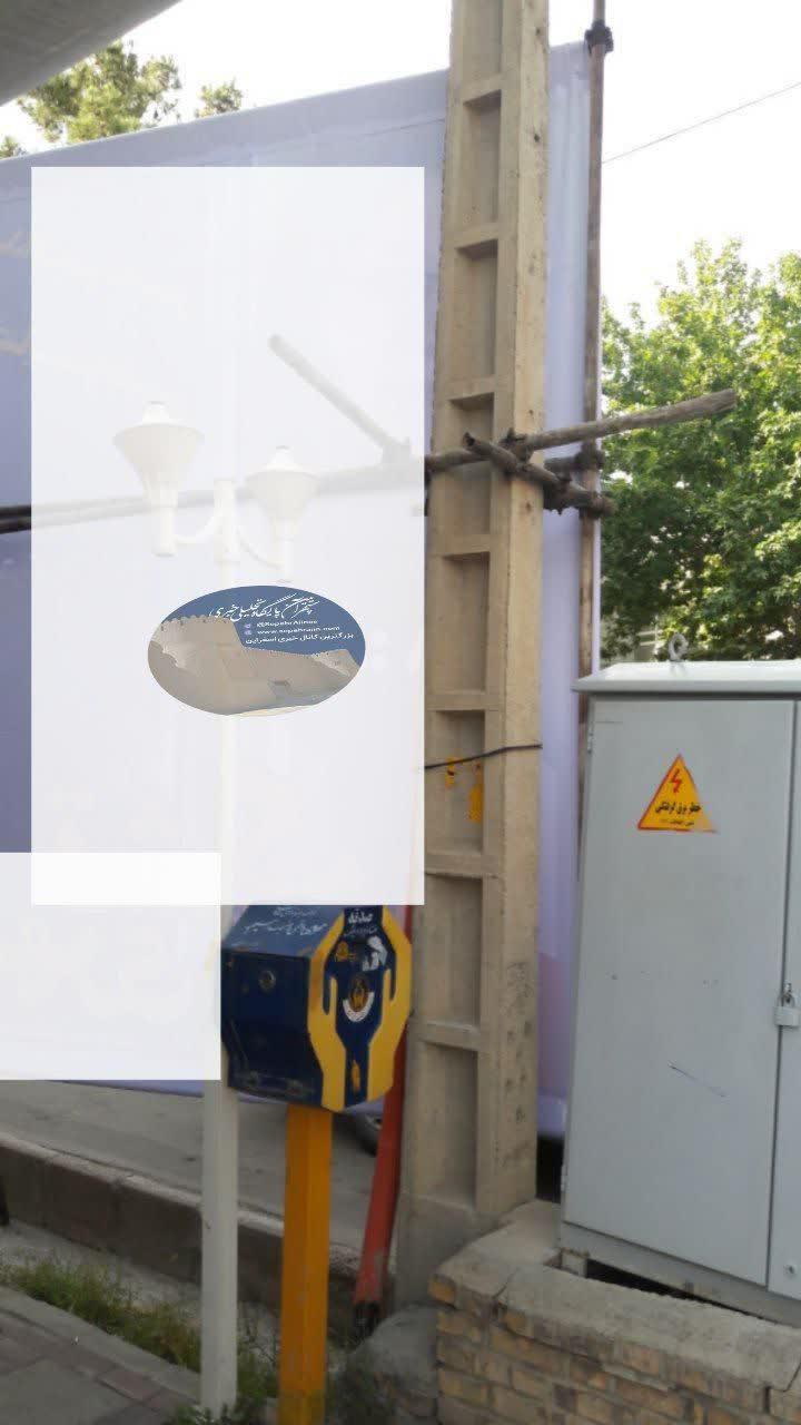 هشدار مدیر توزیع برق برق اسفراین نسبت به حادثه ساز بودن برخی انواع تبلیغات انتخاباتی