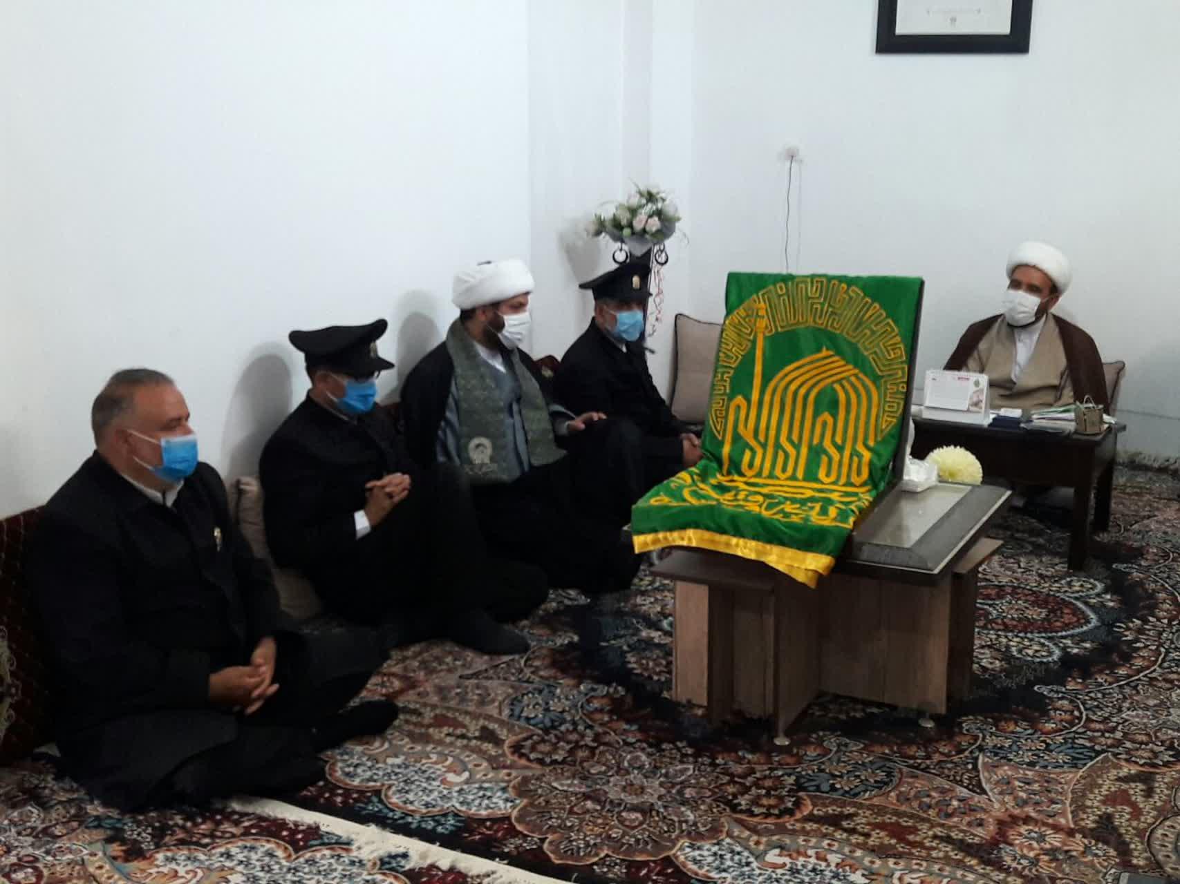 حضور خادمان آستان قدس در پیش قلعه|2841181