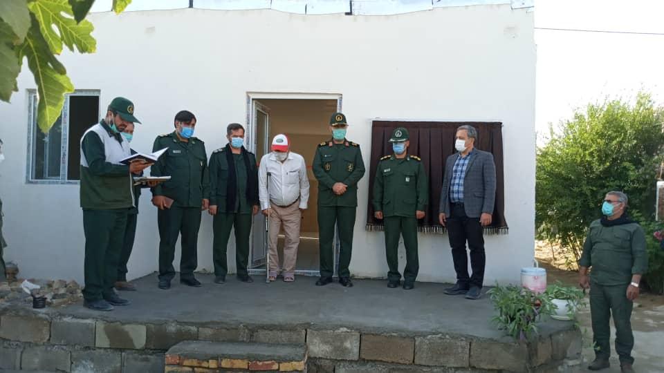 ۲ واحد مسکونی در روستای کوشکی ترکمن و خرمده شرقی بهره برداری شد,