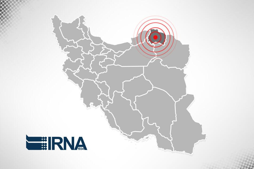 زلزله ۴ ریشتری در مرز خراسان شمالی خسارت نداشت
