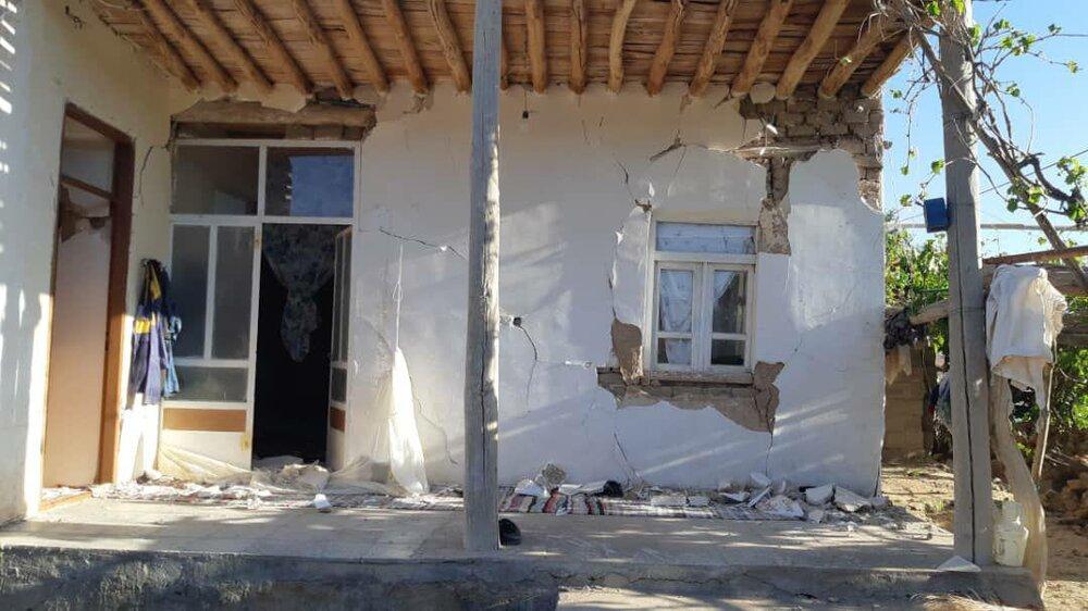 زلزله 20 میلیارد ریال به مددجویان کمیته امداد گرمه و جاجرم خسارت زد