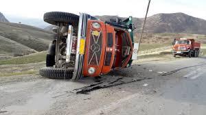واژگونی کامیون در جاجرم ، یک کشته بر جای گذاشت