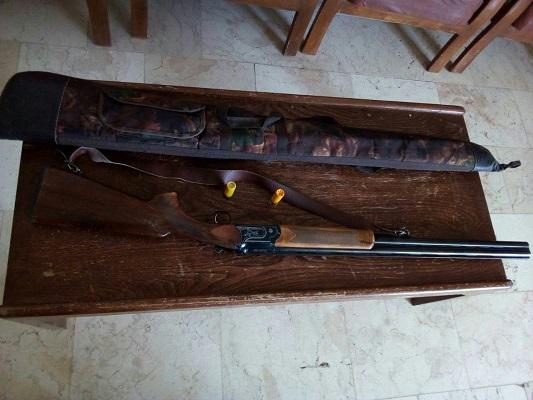 دستگیری شکارچی در حین اقدام به شکار در جاجرم