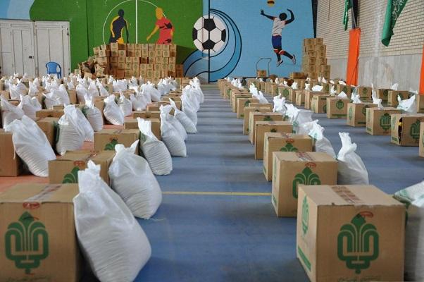 توزیع 3 هزار بسته معیشتی به مناسبت هفته بسیج در فاروج