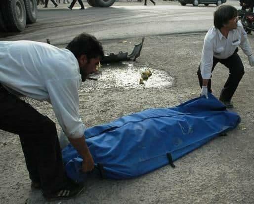 یک کشته در برخورد موتورسیکلت با عابر پیاده در اسفراین
