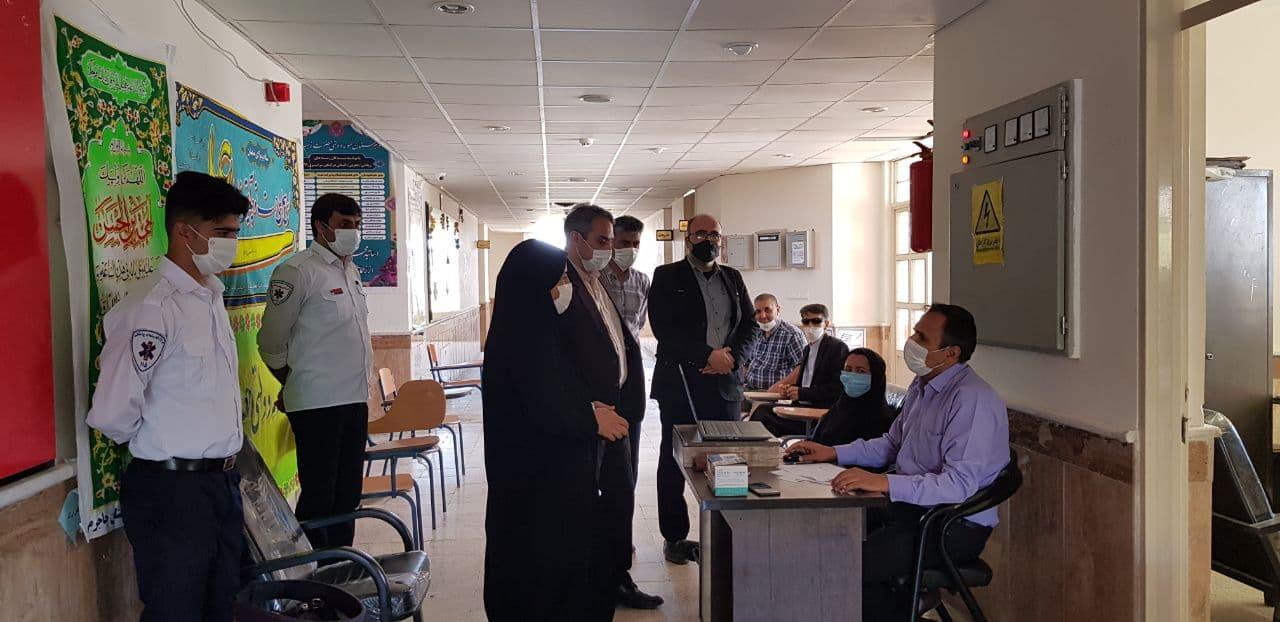 آغاز طرح واکسیناسیون فرهنگیان جاجرمی|2843288