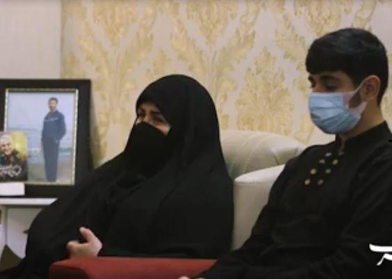 لحظه ای که دوباره یتیم شدیم / سخنان همسر و فرزند شهید فیروز حمیدی زاده |2833575