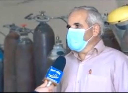 نفس های آخر مرکز شارژ کپسول های اکسیژن در اوج نیاز بیماران تنفسی و کرونایی|2834001